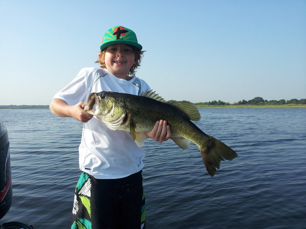 Bass fishing report for orlando florida orlando bass for Bass fishing orlando